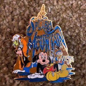 Mickey & Goofy Splash Mountain Disney Pin